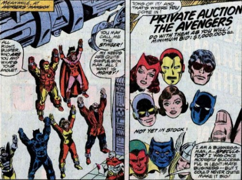 AVENGERS #180: Displayed and Sold Like Toys!
