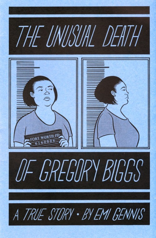 """The Unusual Death of Gregory Biggs"" by Emi Gennis"