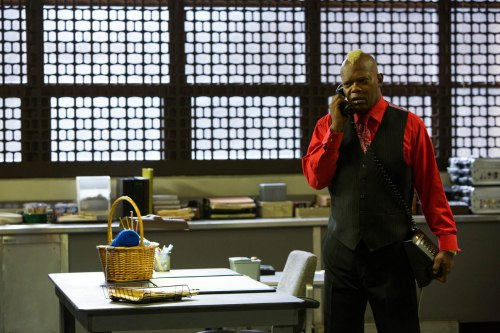 Samuel L. Jackson stars in Spike Lee's reinterpretation of OLDBOY.  Photo credit: Hilary Bronwyn Gayle