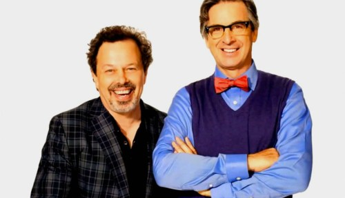 "Curtis Armstrong and Robert Caradine, ""King of the Nerds,"" on TBS"