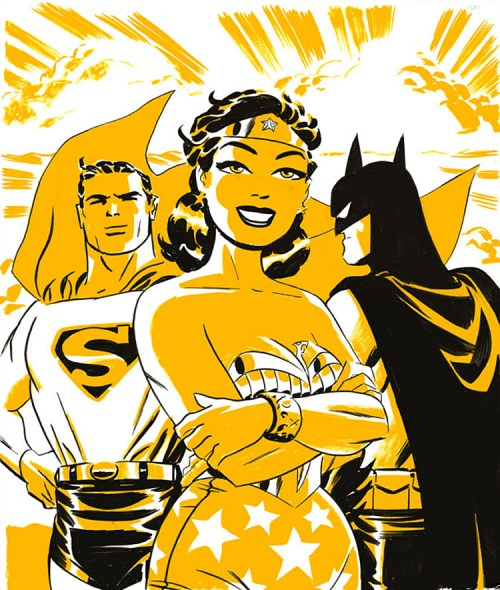 Wonder Woman art by Darwyn Cooke