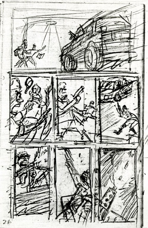 """Page 70 rough from """"The System"""""""