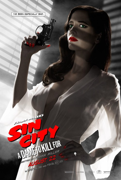 "Eva Green in ""Sin City: A Dame to Kill For"""