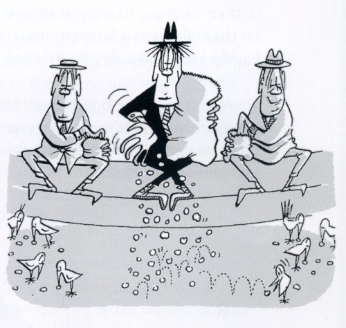 Don Martin, panel from MAD magazine cartoon, June, 1957