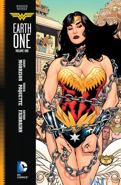 "Finally, ""Wonder Woman Earth One"" by Grant Morrison. I nearly fell out of my chair when I found out it was released!"