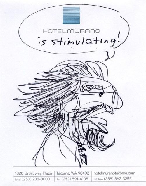 Hotel Murano is Stimulating!