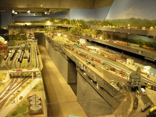 Train Set at the Washington State History Museum