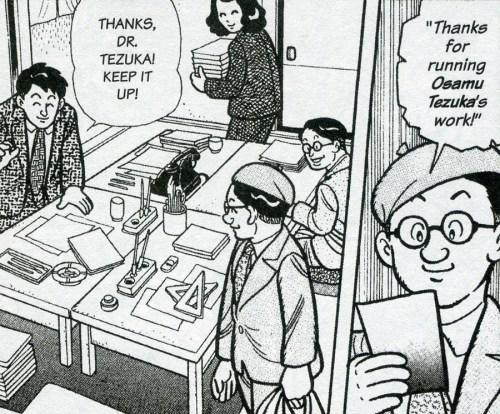 Osamu Tezuka in his prime.