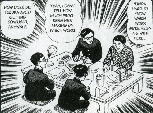 Working for Osamu Tezuka