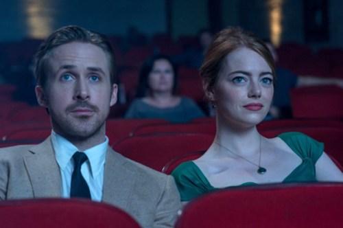 Sebastian (Ryan Gosling) and Mia (Emma Stone)