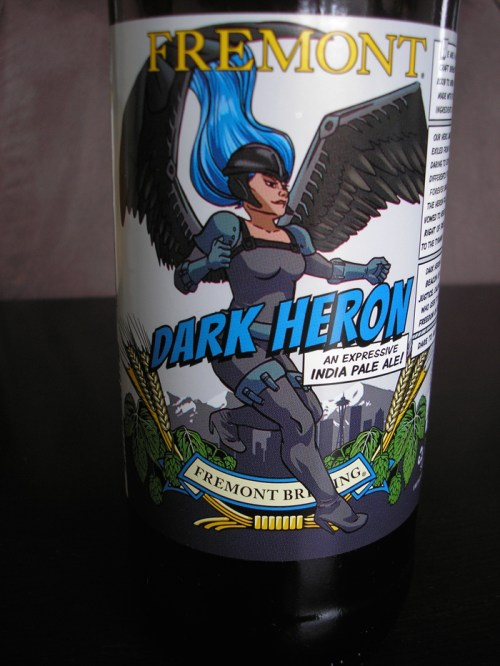 The Dark Heron from Fremont Brewing in honor of Emerald City Comicon in Seattle