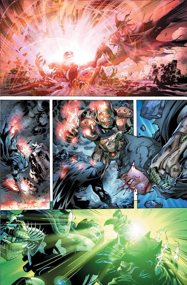 Imagen de Justice League #1 Page 6 cortesía de IGN