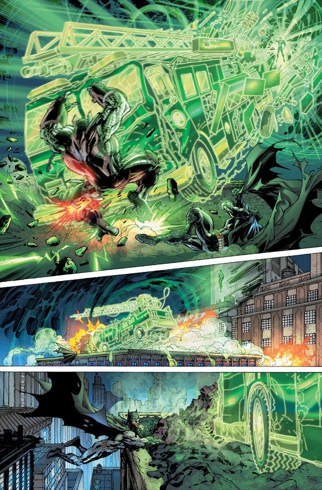 Imagen de Justice League #1 Page 7 cortesía de IGN