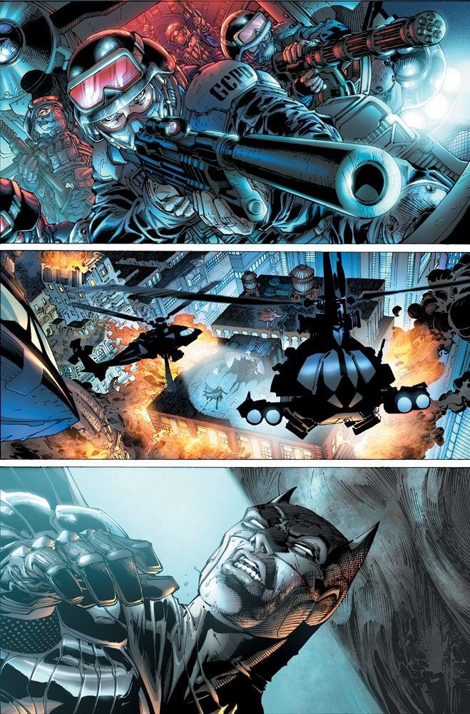 Imagen de Justice League #1 Page 1 Art cortesía de IGN