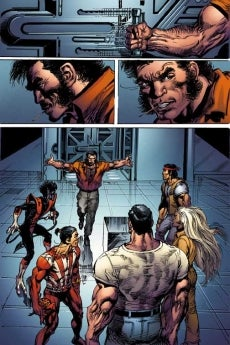 Giant Size X Men 3 Four Page Preview IGN