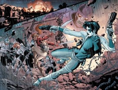 Civil War X Men 1 First Look IGN