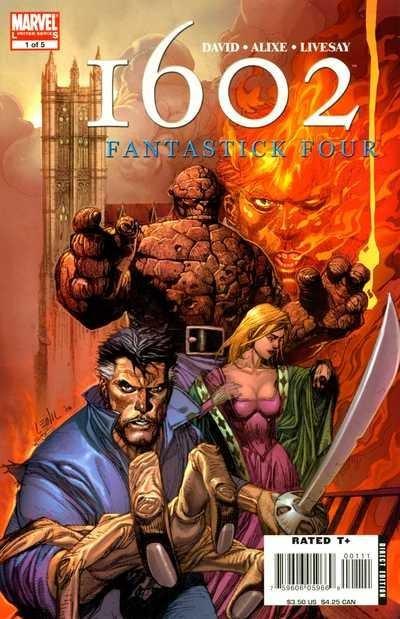 1602 Fantastick Four Comics IGN