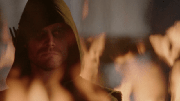 Arrow 1x10Burned