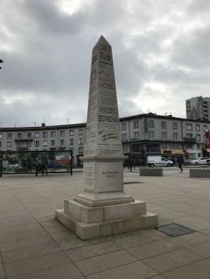 Памятник Рене Госинни.