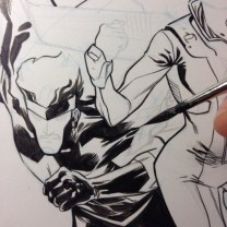 Ramon Perez Cover Process