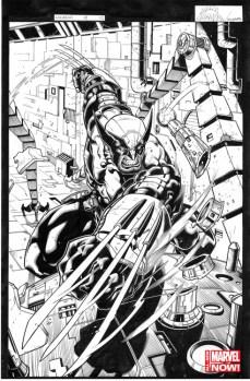 Morales Inks Courtesy: Comics Alliance