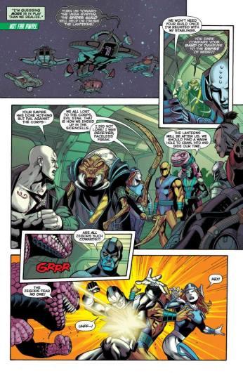 Green Lantern Corps #27 Preview 4 Art by Bernard Chang