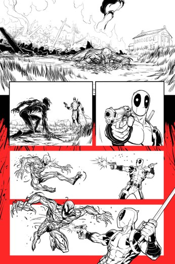 Deadpool vs Carnage #1 Preview 1