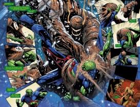 Justice League of America #11 Preview 2 Art by Eddy Barrows/Eber Ferreria