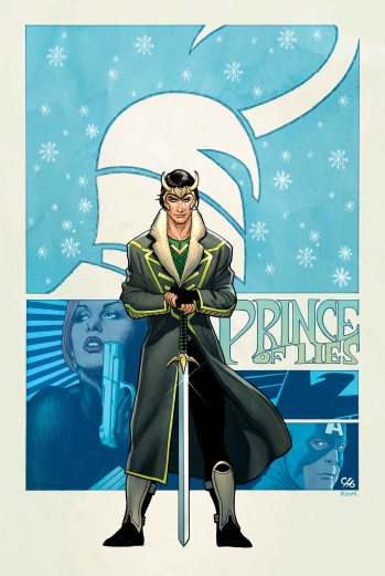 Loki: Agent of Asgard #1 Variant Cover by Frank Cho