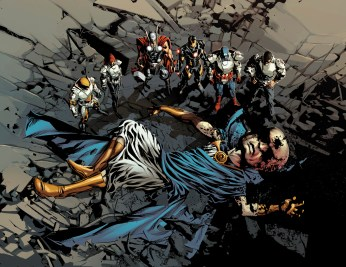 Original Sin #1 Preview 1 Art By Mike Deodato Jr.