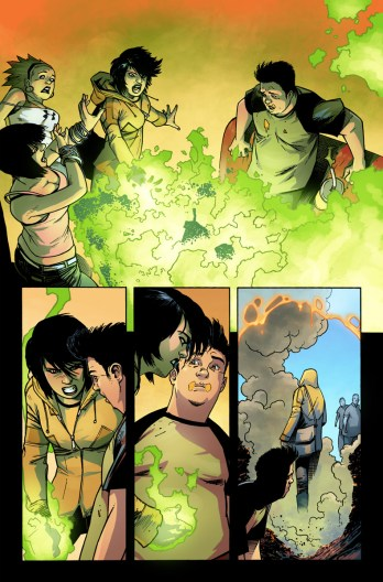 Avengers Undercover #1 Preview 4 Art by Kev Walker