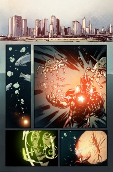 Iron Patriot #1 Preview 3 Art by Garry Brown