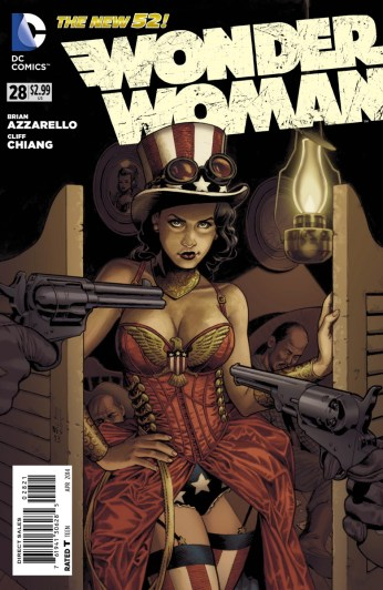 Wonder Woman #28 Variant Cover by J.G. Jones