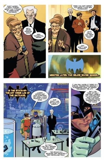 Batman '66 #10 Preview 4 Art by Eric Wright/Kelsey Shannon/David Antoine Williams