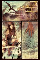 Elektra #2 Preview 3 Art by Mike Del Mundo