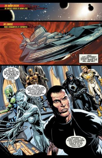 The New 52: Futures End #1 Preview 5 Art by Patrick Zircher