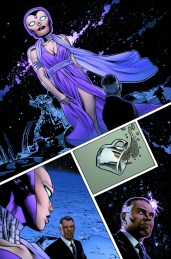 Mighty Avengers #10 Preview 1 Art by Greg Land