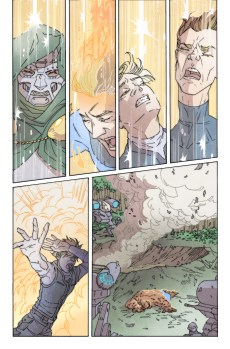 100th Anniversary Special Fantastic Four #1 Preview 1 Art by Joanna Estep