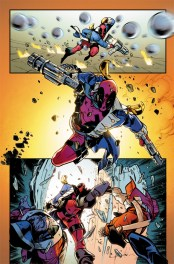 Deadpool Vs X-Force #1 Preview 1 Art by Pepe Larraz