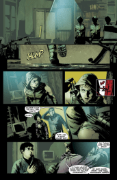 Green Arrow #32 Preview 2 Art by Andrea Sorrentino