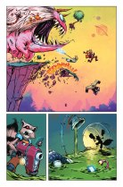Rocket Raccoon #1 Preview 1 Art by Skottie Young