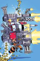 Rocket Raccoon #1 Variant Cover by Skottie Young