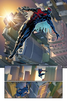Spider-Man 2099 #1 Preview 2 Art by Will Sliney