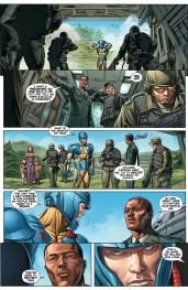 Armor Hunters #1 Preview 4 Art by Doug Braithwaite