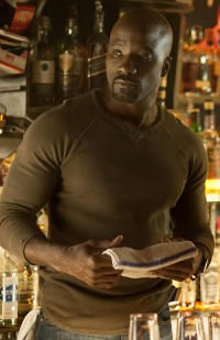"""Jessica Jones"" introduces Mike Colter as Luke Cage, who will star in Marvel's next Netflix series."