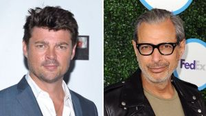 Karl Urban and Jeff Goldblum