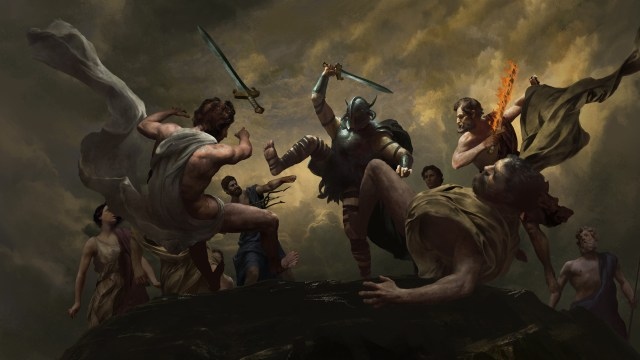 ARES KILLS GODS - Panel 1