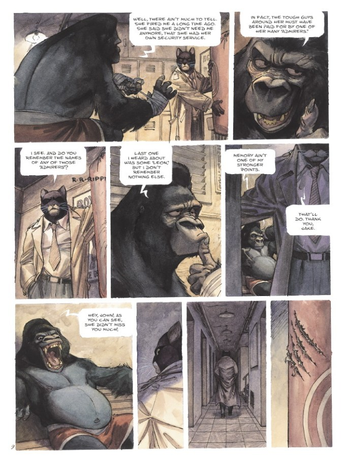 Blacksad page 6