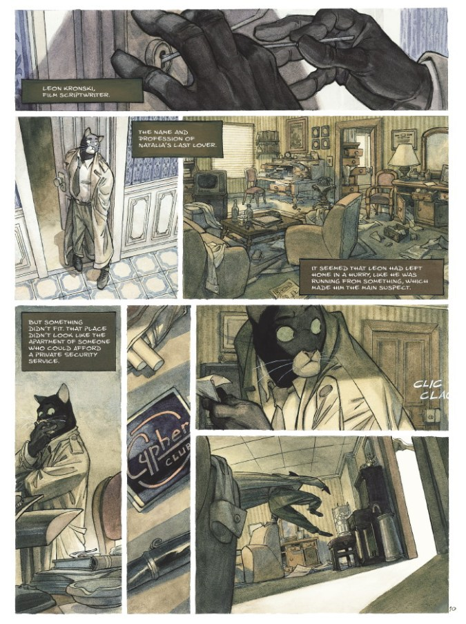 Blacksad page 7