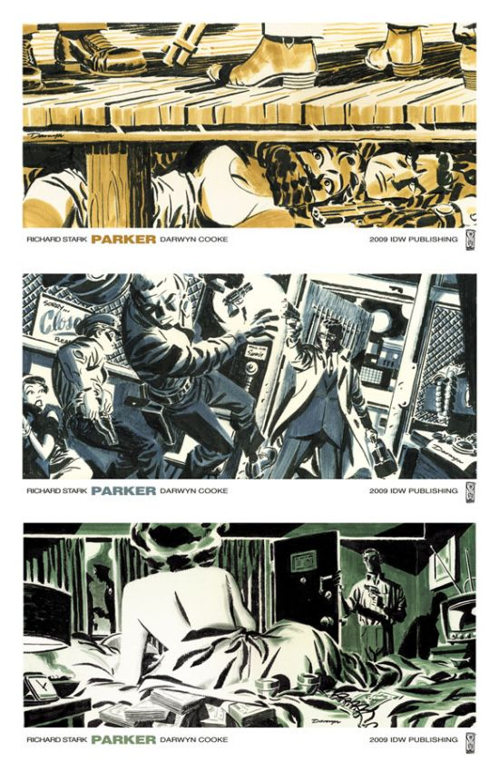 Parker promo art by Darwyn Cooke
